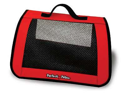 Perfect Petzzz Red Tote - Trasportino For Plush Breathing Pets by Perfect Petzzz