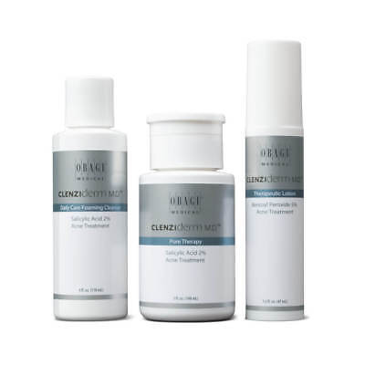 Obagi CLENZIderm MD Acne Therapeutic System Normal to Oily Skin NEW IN BOX