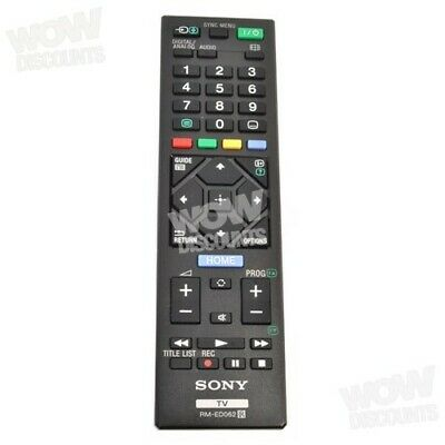 Sony RMED062 / RM-ED062 Original Remote Control for Sony TV