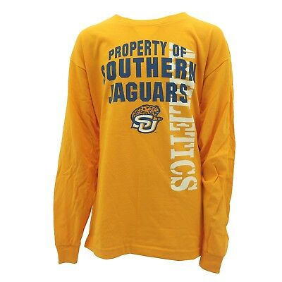 ad81d07cc Southern University Jaguars NCAA Official Kids Youth Size Long Sleeve Shirt  New