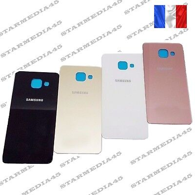Vitre arriere cache batterie Samsung Galaxy A5 2016 A510F AVEC ADHESIF (72)