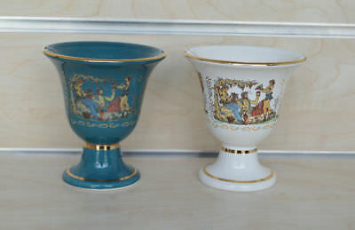 2 items Pythagoras cups of justice - Greedy cup Dionysus feast God of winemaking