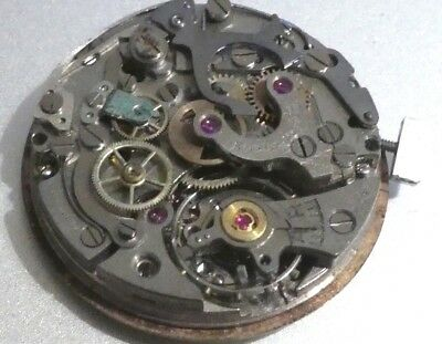 LEMANIA EBEL Defekt Chronograph Movement Caliber 1270 & Lemania Dial (21)