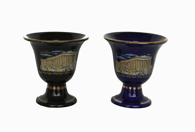 2 items Pythagoras cups of justice Tantalus cup - Acropolis Parthenon