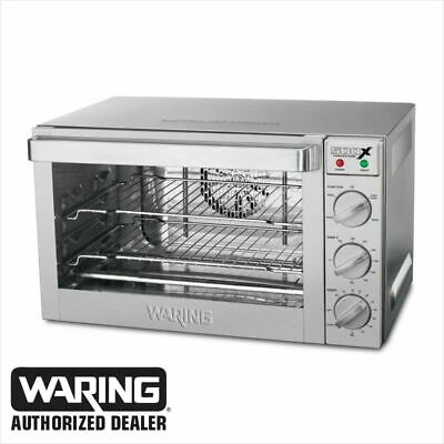 Waring WCO500X Commercial 1/2 Size Convection Oven 120 Volt BLOW OUT PRICE