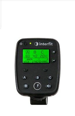 Interfit INTR1C TTL / E-TTL ll Studio Flash Remote Canon for S1 & S1a Monolights