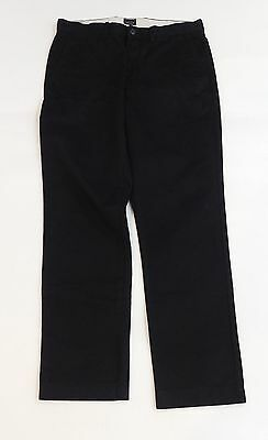 New J Crew Mens Broken In Chino 770 Fit Pants Size 31 x 30 Black Style 19488
