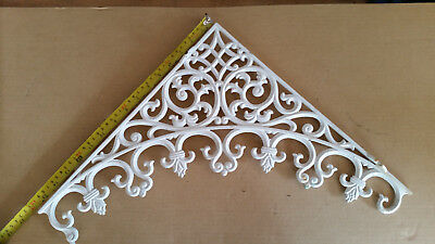 Victorian Aluminum Lattice Lace work - good condition - Free Post (within Aust)