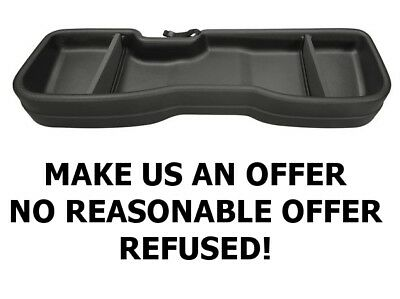 2014-2018 Chevy Silverado GMC Sierra Crew Cab Husky 09031 Under Seat Storage Box