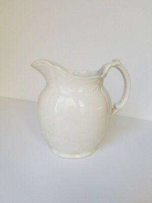 Vintage Water Pitcher: Waterloo Potteries Royal Premium T.R. Boote, England