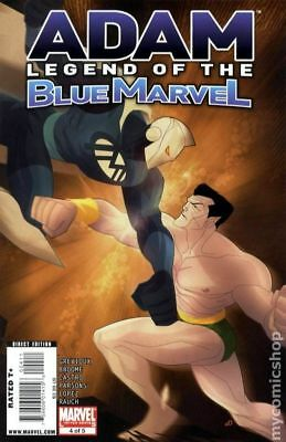 Adam Legend of the Blue Marvel #4 2009 FN 6.0 Stock Image
