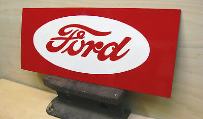 SALE TODAY_FORD TRACTOR SIGN- Vintage Style - Custom HAND PAINTED Sign / Art