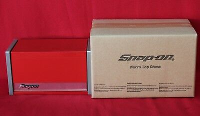 Snap On Red  Mini Micro Top Chest Tool Box  Brand New !!!!!