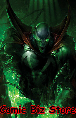 Spawn  #284 (2018) 1St Printing Mattina Virigin Wraparound Variant Cover C