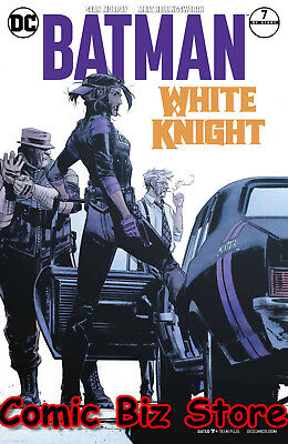 Batman White Knight #7 (Of 8) (2018) 1St Print Variant Cover Dc Universe Rebirth