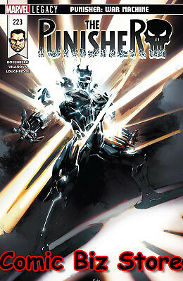 Punisher #223 (2018) 1St Printingbagged & Boarded Marvel Legacy Tie-In