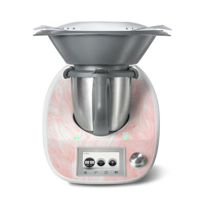Pink Marble Vinyl Sticker Decal to fit Thermomix TM5 - Protect & Personalise
