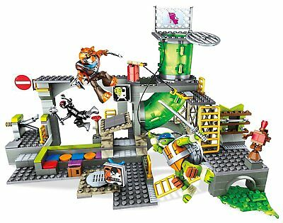 Mega Bloks Turtle Sewer Lair 342pc s - building sets Any gender Multicolour Plas