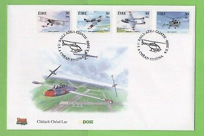 Ireland 2000 Aircrafts self adhesive set on First Day Cover