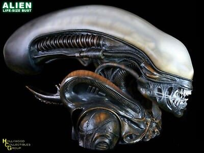 ALIEN 1:1 SCALE BUST~LIFE SIZE~Hollywood Collectibles Group~statue~HCG 9213~BNIB