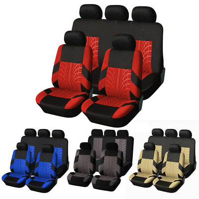 9pcs Full Set Car Seat Covers Car Interior Accessories Seat Covers For Car SUV