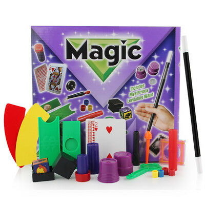 Deluxe Magicians Magic Set Children 17 Tricks for Kids Children Play Toys Game