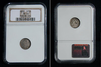 1830 Silver Capped Bust Half Dime NGC XF40