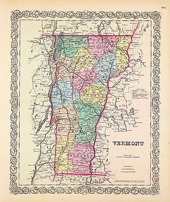 161 old maps VERMONT state PANORAMIC genealogy lots HISTORY DVD