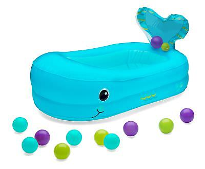 Whale Bubble Bath Tub Infant Baby Inflatable Ball Set Bath For Toddler  Shower
