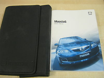 Mazda 6 Handbook Pack Owners Manual Wallet 2003 2007