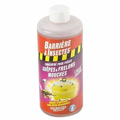 Barriere A Bugs barpiguep500 Bait for Wasp and Hornet Traps Concentrated 7 x