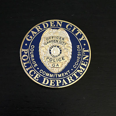 A1 Holly Springs Georgia Ga Department Challenge Coin Picclick