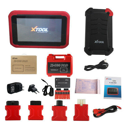 XTOOL X100 X-100 PAD Tablet Key Tool with EEPROM Adapter Support Special Functio