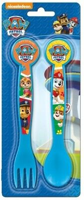 Disney Paw Patrol Kids Spoon & Fork Cutlery Set . Zak Designs