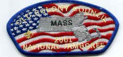 Jsp From 2001 Jamboree From Old Colony Council- Blue Border