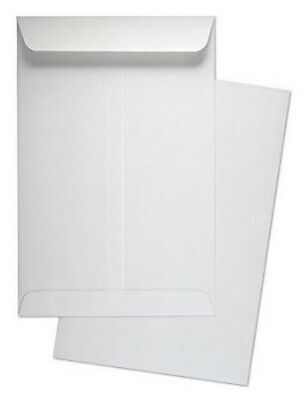 """6"""" x 9"""" Catalog Envelope Open End White Wove 500 Count- MCT695NW"""