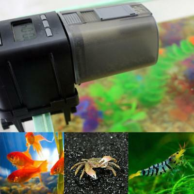 Auto Aquarium Pond Fish Tank Feeder Programmable Food Dispenser Feeding