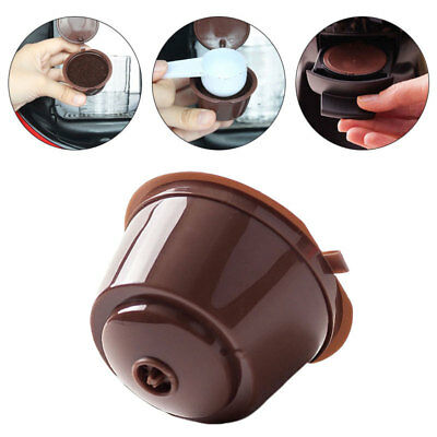 4X Refillable Reusable Coffee Capsule Pods Cup for Nescafe Dolce Gusto Machine #