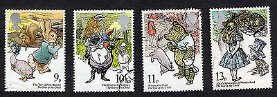 1979 International Year of the Child SG 1091 to 1094 Fine Used R7296