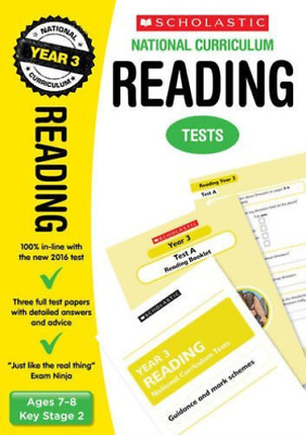 Natcurr Tests Reading Year 3  (UK IMPORT)  BOOK NEW