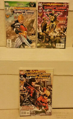 Flashpoint Wonder Woman & The Furies #1 2 3 Complete DC Comics Lot NM