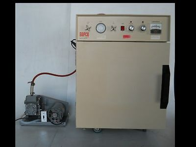 USED Huge Vacuum Oven WITH Vacuum Pump and TEST RESULTS