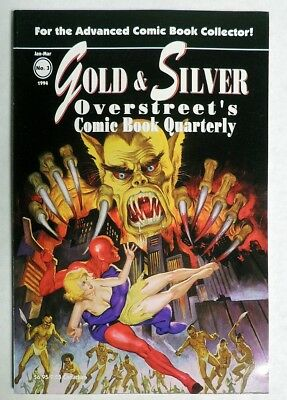 ESA0265. GOLD & SILVER Overstreet's COMIC BOOK QUARTERLY #3 Magazine (1994)~~