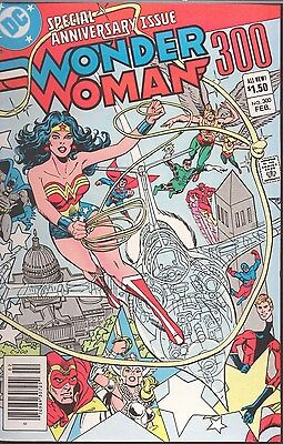 WONDER WOMAN # 300 Feb 1983 SPECIAL ANNIVERSARY ISSUE 76-PAGES WRAP-AROUND COVER