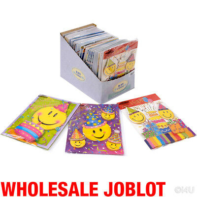 100 Birthday Greeting Cards 3D Kids Card Cute Wholesale Job Lot Brand New In Dis