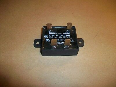 Crydom Solid State Relay SSR  EZ240D18  3-15vdc Input   240vac @18amp Out