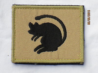 4th Armoured Brigade, TRF, Patch, Desert, Fabric Badges Left Arm,