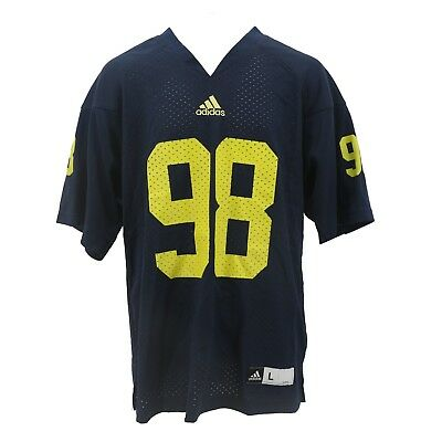 0fbc04268cc Michigan Wolverines Official Adidas NCAA Kids Youth Size Jersey New with  Tags