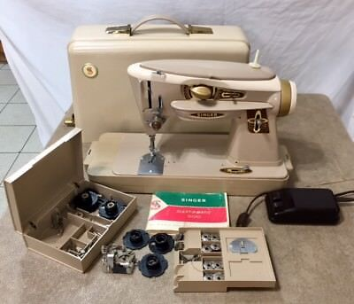 SINGER SEWING MACHINE 40A Rocketeer Case Cams Accessories Manual Best Singer Sewing Machine 500a Manual