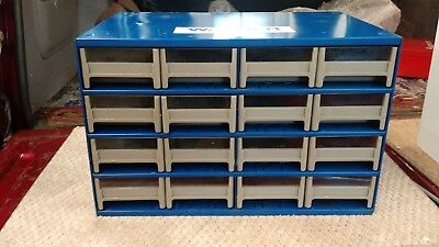 Vintage Wagner Brake Parts Cabinet With Drawers